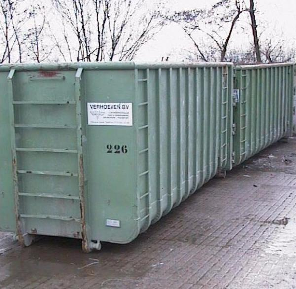 Afzetcontainers (30 m³) | Verhoeven BV