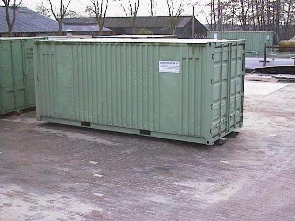 Afzetcontainers (Magazijncontainer) | Verhoeven BV