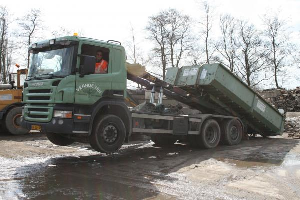 Scania R 270 6x2 containerauto | Verhoeven BV
