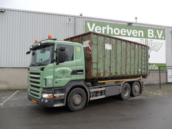 Scania R 380 6x2 containerauto | Verhoeven BV