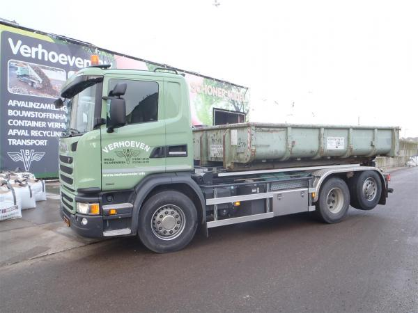 Scania G 410 6x2 containerauto | Verhoeven BV